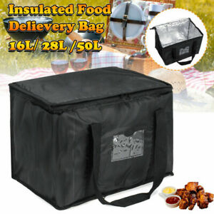 Food Pizza Takeaway Restaurant Delivery Bag Thermal Insulated Warm cold Bags Us