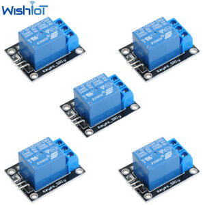 5pcs 1 Channel Relay Module Board Shield For Pic Avr Dsp Arm For Arduino Relay