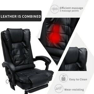 New Massage Computer Chair Office Gaming Swivel Recliner Leather Boss Chiar Syf