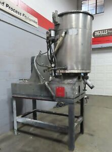 Kady Mill Disperser Model 2c 50 Stainless Steel Jacketed Tank Rotor Stator