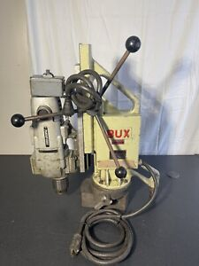 Bux Magnetic Drill Base Model Dh 3 4 Rp 110 Volt Porter Cable Motor