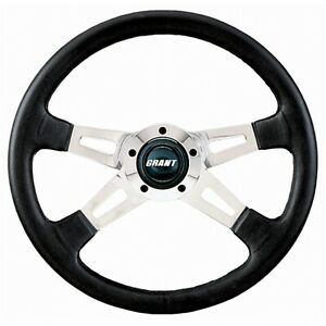 Grant 1180 Collectors Edition Steering Wheel 14 3 4 D Black Leather Grip