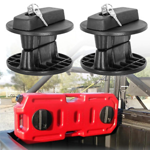 20l Fuel Tank Bracket Lock Gas Container Gasoline Pack Jerry Can Mount Holder