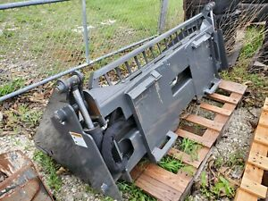 Used 68 Inch 4 in 1 Skid steer Combination Bucket Attachment Cid