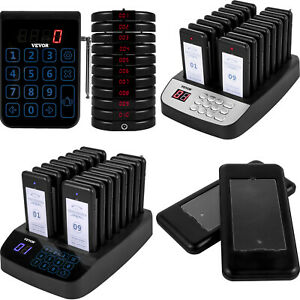 Vevor Restaurant Paging System Wifi Wireless Coaster Pagers For Caling Queuing