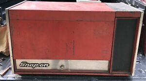 Vintage Usa Made Snap On 12 Drawer Tool Box Chest Toolbox Model Kr 537d With Key