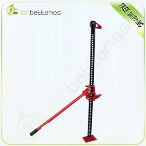 Off Road Ratcheting Farm Jack Truck High 60 Lift Bumper 3 Ton For Tractor Suv