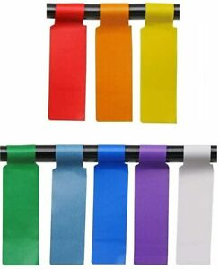 8 Colors 240 Pack Cable Labels Self adhesive Stickers Waterproof Wire Labels