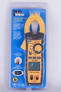 Ideal 61 747 Digital 400a Ac dc Trms Clamp Meter W Leads Multimeter