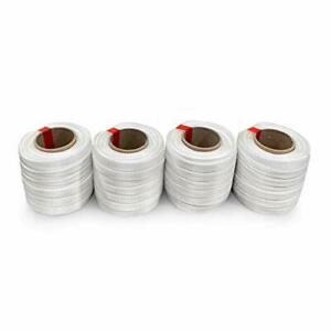 Idl Packaging 3 4 X 250 Mini Woven Cord Strapping Roll Of 6 X 3 Core Size