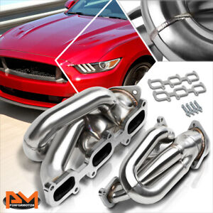 For 11 17 Ford Mustang 3 7 V6 Stainless Steel Shorty 3 1 Exhaust Header Manifold