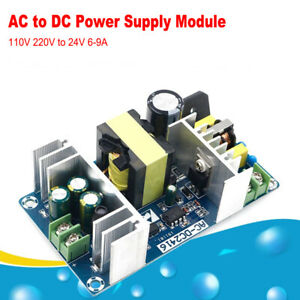 Ac dc Converter Ac 100 240v To Dc 24v 6a 9a 150w Switching Power Supply Module