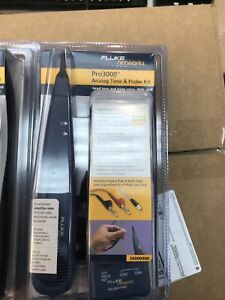 Fluke Networks Pro3000 Analog Probe Toner With Pouch New In Box