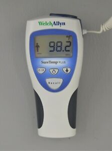Welch Allyn Suretemp Plus 692 Electronic Thermometer Ref 01692 200