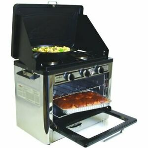 Camp Chef Outdoor Camp Oven 31 H X 24 W X 18 L black silver