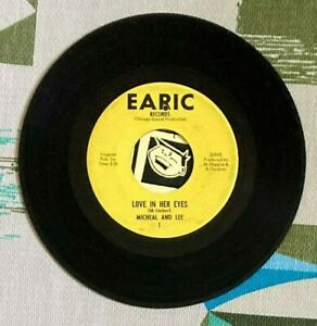 Michael and Lee 45 Love in Her Eyes 1966 Garage VG $200.00