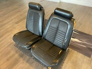 1969 1972 Gm A Body Gto Chevelle Interior Bucket Seats Headrests Frames Complete