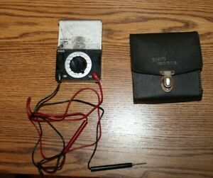 Sperry Volt ohm Multi Tester Model Sp 140 Works But Flawed Cosmetic