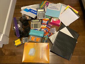 Large Lot Of Over 50 Office Supplies Bundle