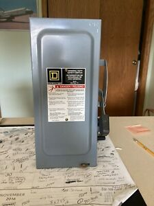 Square D 60 Amp General Duty Fused Safety Switch