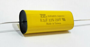 8 2uf 250v Metallized Polyester Film Capacitor 2 Audiophile Crossover Tweeter