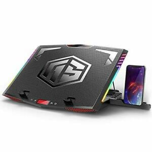 Mefee Rgb Laptop Cooling Pad For 15 6 21 Inch Professional Gaming Laptop Cool