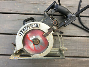 Craftsman Industrial Worm Drive Saw No 135 276100 7 1 4 Working