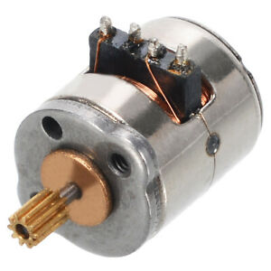 Micro Small 8 9 2mm 2 phase 4 wire Stepper Motor With Copper Gear Diy