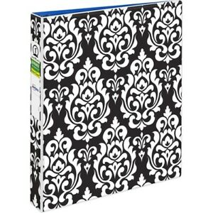 Avery Fashion View Binder Round Rings 1 Album School Office With Free Folder