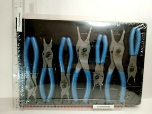 Snap On Tools 7 Pc Retaining Ring Pliers Set Blue Srpcr107pb Sealed Package
