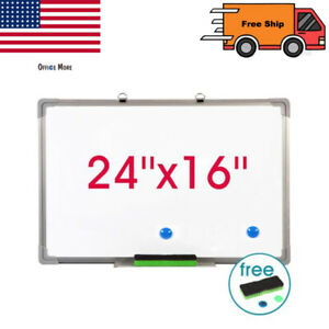24 x16 Office Dry Erase Whiteboard Magnetic Whiteboard Learning Writing Board