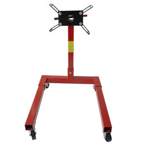 1250lbs Engine Stands Motor Hoist Dolly Mover Car Auto Repair Rebuild Jack
