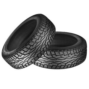 2 X New Uniroyal Tiger Paw Ice Snow 3 245 65r17 107t Tires