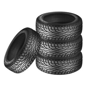 4 X New Uniroyal Tiger Paw Ice Snow 3 245 65r17 107t Tires