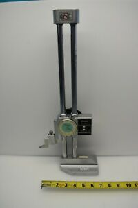 Used Mitutoyo 192 116 Dial Height Gage W Digital Counter 0 12 Range 001 12