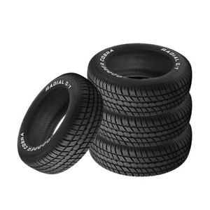 4 X New Cooper Radial G T P235 60r14 96t Tires
