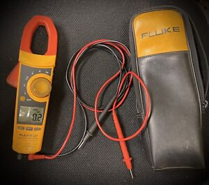 Fluke 337 True Rms Clamp Meter With Soft Case Leads And Original Box
