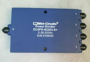 Mini circuits Zc4pd 02263 s Power Divider combiner 2000 26500 Mhz High Power