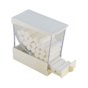 Plasdent 207crd 1 Cotton Roll Dispenser Pull Out Drawer Style White