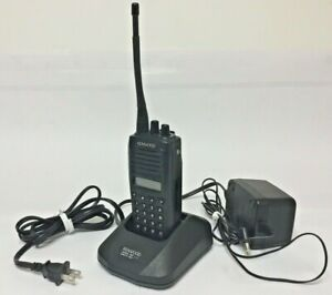 Kenwood Tk 370g Uhf 450 470 Mhz 128ch 4 Watt Radio With Clip And Charger