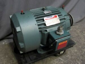7 5hp Reliance P21c3317gss Electric Motor 3520 rpm 213t 230 460v 3ph