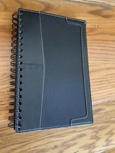 Mead Business Notebook Cambridge City Black 100 Perforated Pages New