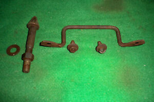 1965 1966 Mustang Hood Latch Pin Safety Catch