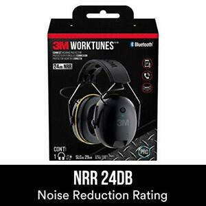 3m Worktunes Connect Hearing Protector With Bluetooth Technology 24 Db Nrr