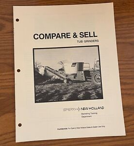 Compare And Sell Sperry New Holland 1979 Tub Grinders 6135 950 6 79