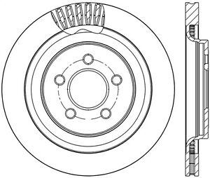 Stoptech 126 61109sr Stoptech Sport Rotor Fits 15 17 Mustang
