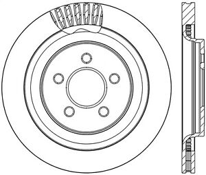 Stoptech 126 61109sl Stoptech Sport Rotor Fits 15 17 Mustang