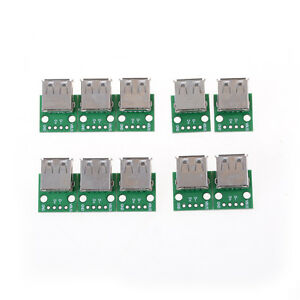 10pcs Usb 2 0 To Dip 4p 2 54mm Pcb Board Adapter Converter For Arduino Diy_dc