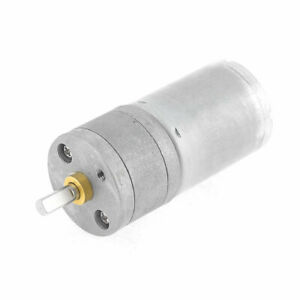 12vdc 1000rpm 4mm Shaft Dia Speed Reducing Electric Geared Motor