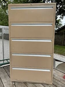 Hon Lateral Storage Cabinet 5 Drawers Legal Letter Tools Collectables Paint
